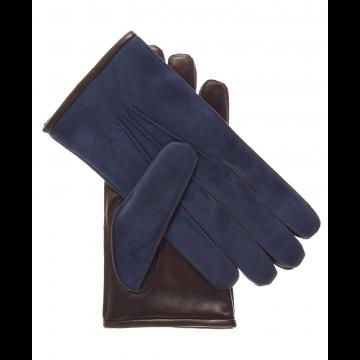 Suede and Lambskin Gloves Womens