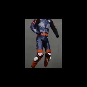 Two Piece Leather Motorcycle Suit