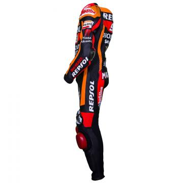 All Black Motorcycle Suit