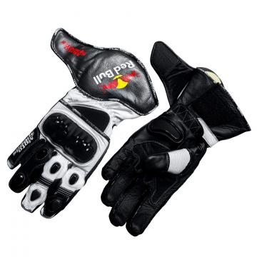 Red Bull Motorcycle Gloves Leather