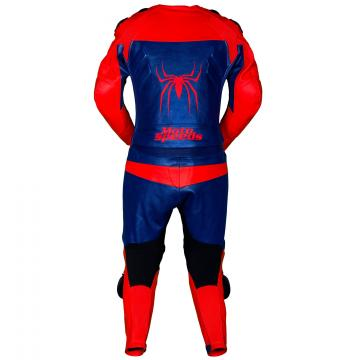 Leather Racing Spiderman Suit
