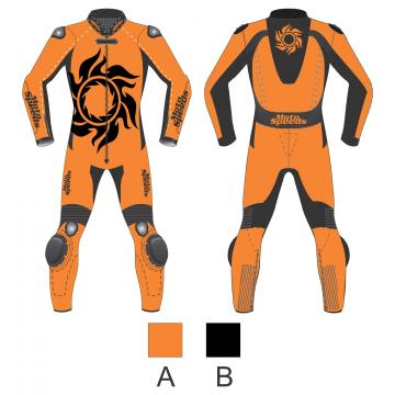 Tattoo Leather Suit