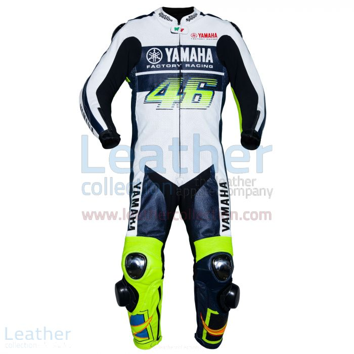 Vr46 Leather Suit Valentino Rossi Yamaha