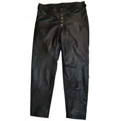 the crow leather pants