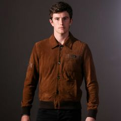 Cambridge Jacket For Men closed front view