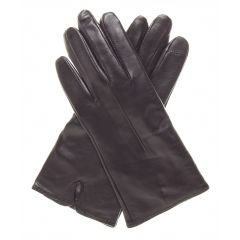 womens leather gloves cashmere lined