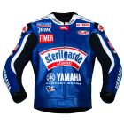 Ben Spies Sterilgarda Yamaha 2009 MotoGP Leather Jacket front view