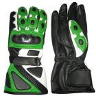motorcycle gloves green