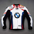 BMW Motorrad Leather Jacket front view