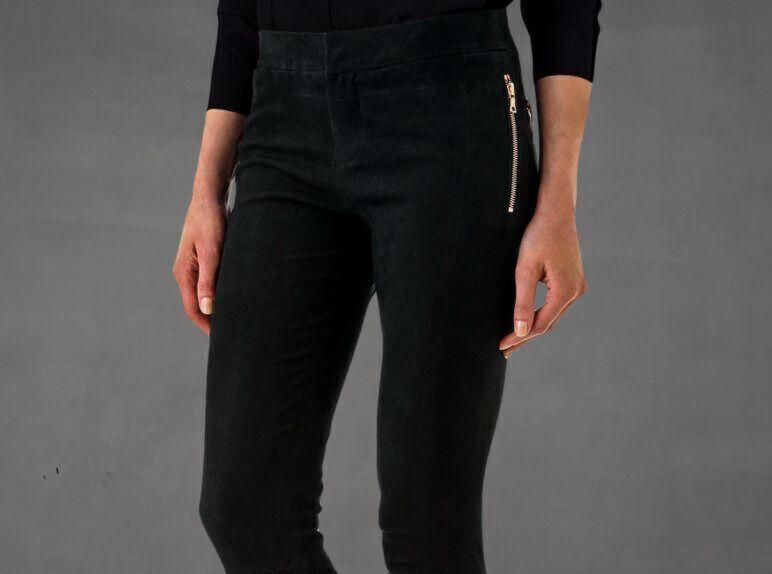 Pantalon en cuir personnalisé